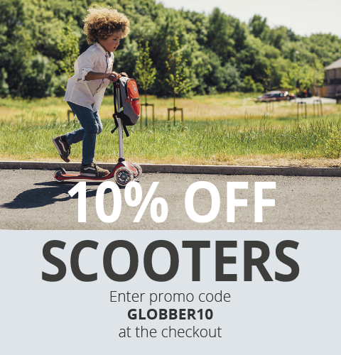 10% off Globber Scooters with Globber10