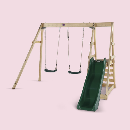TAMARIN WOODEN SWING SET