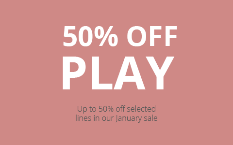 Up to 50% off Trampoline, Swings, Climbing Frames, indoor toys and Scooter in the Plum January Sale