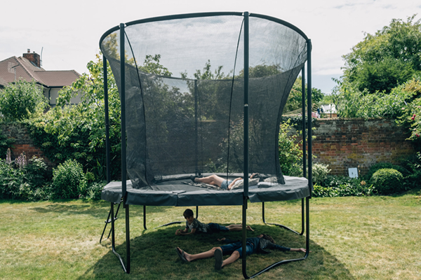 Plum Play Oval Trampoline - PERFECT LOOK TO ANY GARDEN