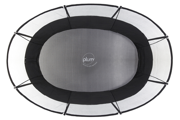 Plum Play Oval Trampoline - UNIQUE SHAPE
