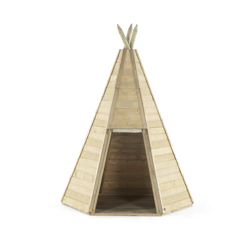 PLUM WOODEN TEEPEES