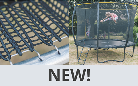 Our New Web Springless Trampolines - All the fun no springs attached