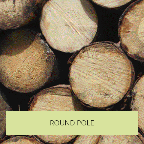 Round Pole Timber