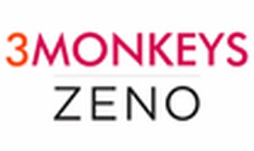 Sarah Ogden, 3 Monkeys Zeno