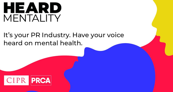 PRCA and CIPR launch a new mental health campaign