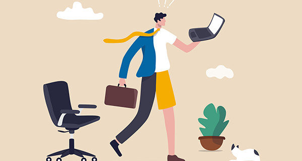 Where are you on the flexible working hybrid spectrum?