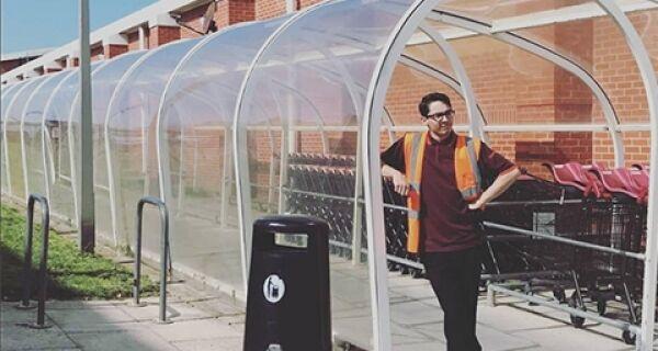 Good and Bad PR: We're loving Sainsbury's Christmas themed Bude Tunnel