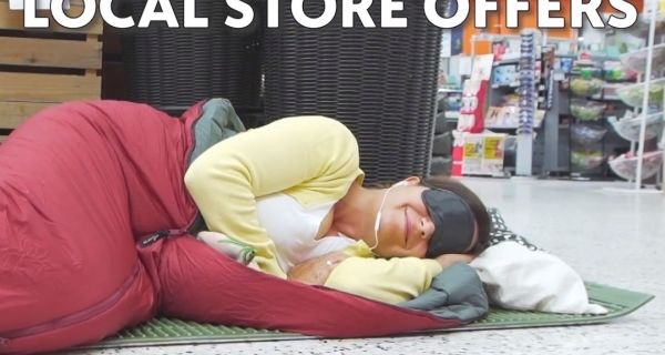 Good and Bad PR: Greater Change helps the homeless whilst K-Supermarket gets people sleeping in its aisles