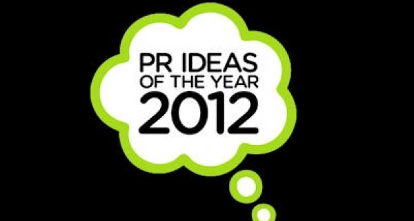PR Ideas of the Year 2012 book