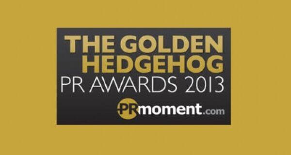 The Golden Hedgehog PR Awards shortlists for 2013
