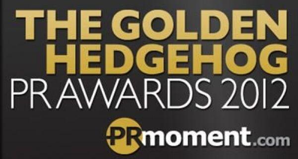 The Golden Hedgehog PR Awards shortlists for 2012