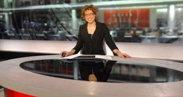 Fifty percent of British consumers watch the BBC for their news and most people watch the news in the evening