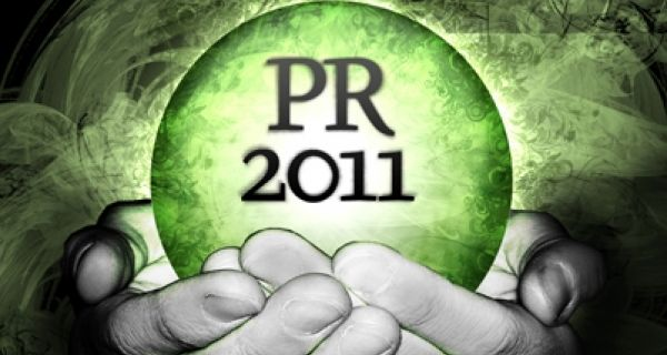 2011 will see PR return to being all about the idea