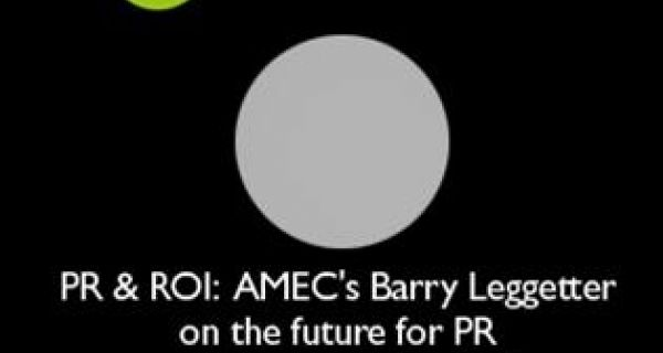 AMEC's Barry Leggetter on the plans to introduce a global standard for the measurement of PR