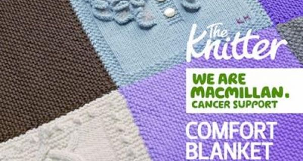 Knitters offer blanket support to Macmillan Cancer charity