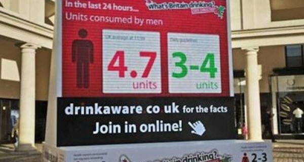 Drinkaware's campaign that got people thinking before their drinking