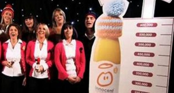 PRmoment.tv gets the inside story on Innocent Drinks' Big Knit PR Campaign