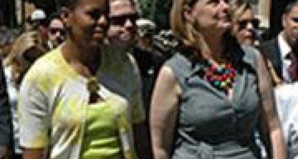 How the profiles of Michelle Obama, Sarah Brown and Carla Sarkozy impact on their husband's reputations