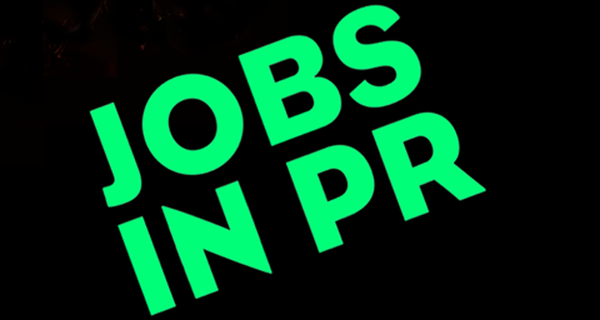 PR jobs of the week