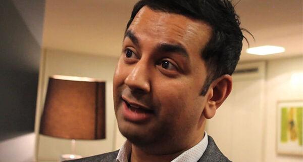 Daljit Bhurji, co-founder of Diffusion on the PRmoment podcast