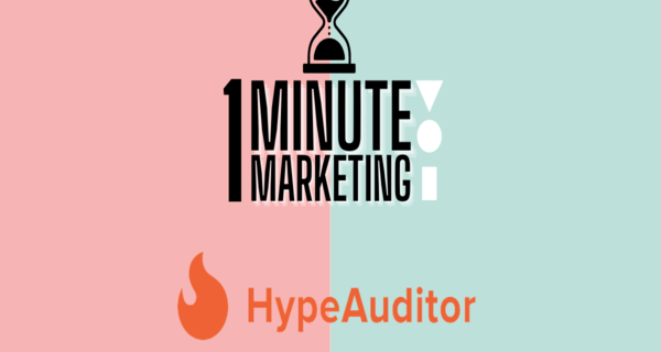 Continuing with 1 Minute Marketing with NAVIC, how to use HypeAuditor