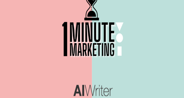 Continuing with 1 Minute Marketing with NAVIC, how to use Ai Writer for Copywriting and referencing