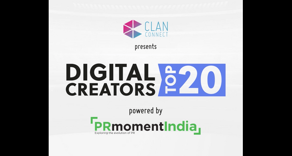 Announcing winners of the first ClanConnect – PRmoment India Digital 20 Awards for 2021