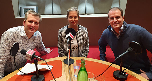 A discussion about mental health in PR, with James Endersby and Jane Fordham on the PRmoment podcast