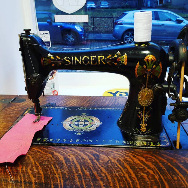 singer, sewing machine