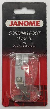 Janome - 202035006 - Cording Foot (B) i.e. heavier cord