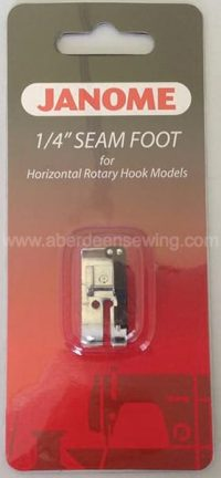 Janome - 200318000 - 1/4 inch Seam Foot - Category B & C