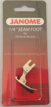 Janome - 767820105 - 1/4 inch Seam Foot - Memory Craft 1600P Series
