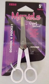 Janome - XE55 - 5 inch Marvels - School Pocket Scissors