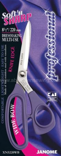 Janome - XN5220WB - 8.5 inch Soft'n Sharp Professional - Multi-Use (Wide Bow)