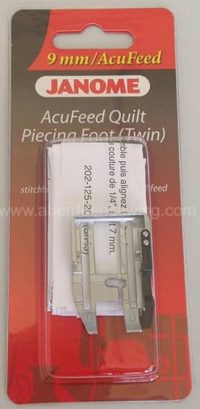Janome - 202125004 - AcuFeed 1/4 inch Seam Foot - Cat D (with Acufeed)