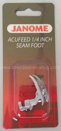 Janome - 202031002 - AcuFeed 1/4 inch Seam Foot - MC7700QCP, MC6600P ONLY