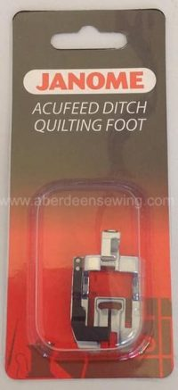 Janome - 846413006 - AcuFeed Ditch Quilting Foot - MC7700QCP & 6600P ONLY