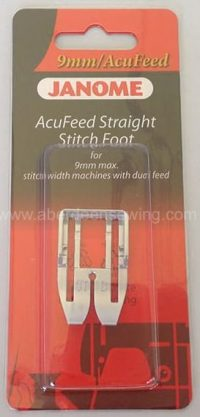 Janome - 202102005 - AcuFeed Straight Stitch Foot - Category D (with AcuFeed)