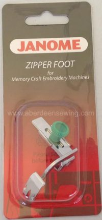 Janome - 200334002 - Adjustable Zipper Foot/Piping - Category C