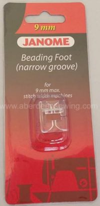 Janome - 202097006 - Beading Foot (Narrow) - Category D