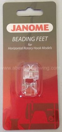 Janome - 200321006 - Beading Foot (Set of 2) - Category B/C