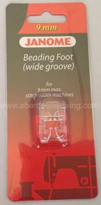 Janome - 202098007 - Beading Foot (Wide) - Category D