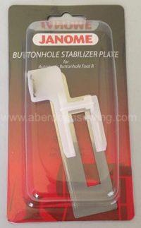 Janome - Buttonhole Stabilizer Plate - 200428004