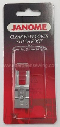 Janome Clear View Cover Stitch Foot - 795818107