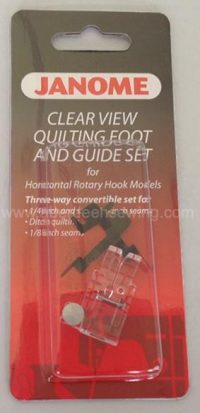 Janome Clear View Quilting Foot and Guide Category B/C - 200449001
