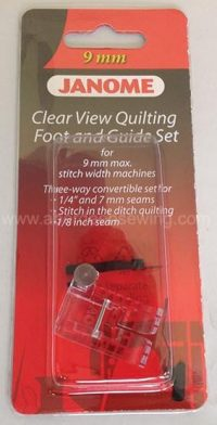 Janome Clear View Quilting Foot and Guide Set - Category D - 202089005