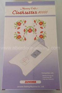 Janome Clothsetter 10000 - 850402005