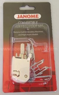 Janome Even Feed Foot Set - Convertible - Category C - 214516003
