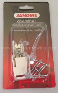 Janome Convertible Even Feed Foot Set - Category B - 214517004